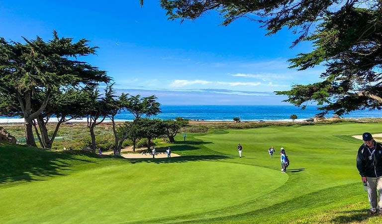 Pebble Beach Golf Course Pacific Grove, California